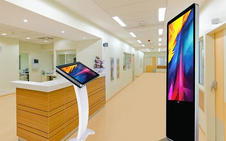 Интерактивные сенсорные панели для поликлиник, фото 2