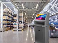Интерактивные сенсорные панели для заводов