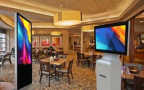 Интерактивные сенсорные панели для кафе