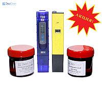 Kelilong Набор для гидропоники pH метр и солемер с готовыми калибровочными растворами PH009TDS5