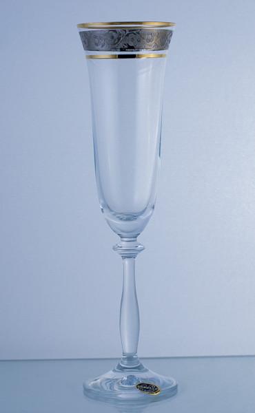 Фужеры Angela 190мл шампанское 6шт 40600-43249-190. Алматы