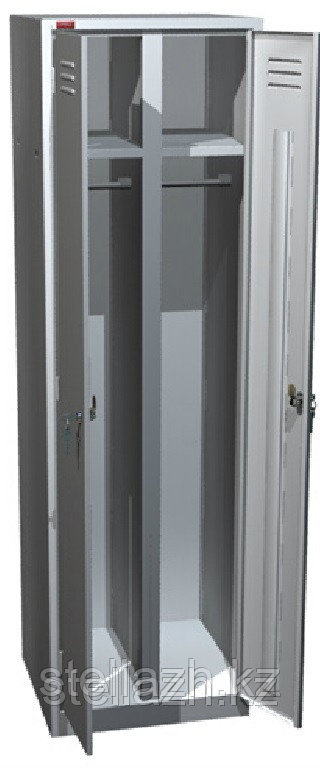 Металлический шкаф для одежды ШРМ АК