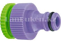 """Адаптер пластиковый 1/2""""-3/4"""", с внутренней резьбой PALISAD 65720 (002)"""