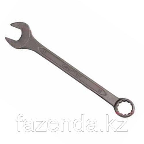 Ключ комбинированный хромованадиевая сталь, зелёный цинк, 24х24мм