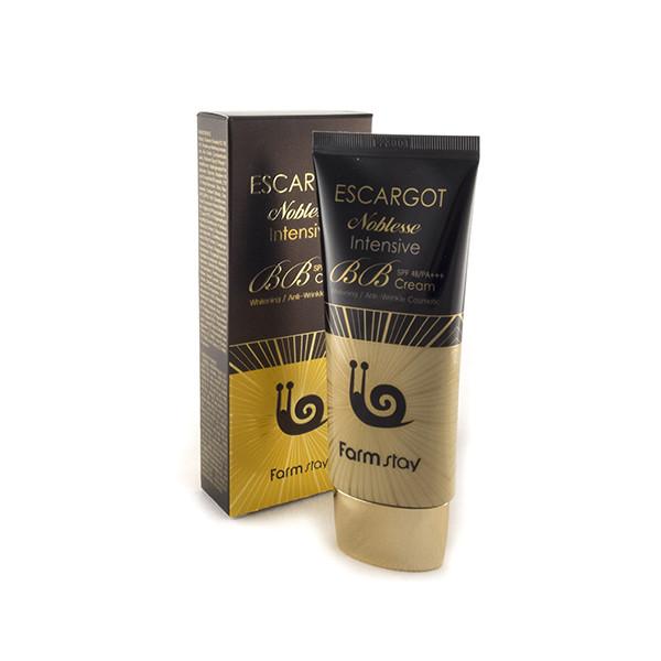 FarmStay Escargot Noblesse Intensive BB Cream SPF48 PA++ Интенсивный ББ-крем с экстрактом улитки 50 гр.