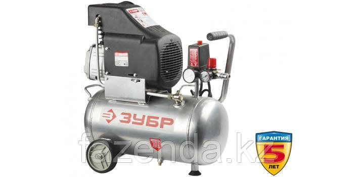 Компрессор воздушный поршневой ЗУБР , производительность 210 л/мин