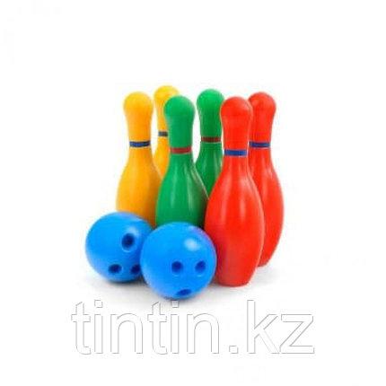Боулинг в сетке, 6 кеглей, 2 шарика, фото 2