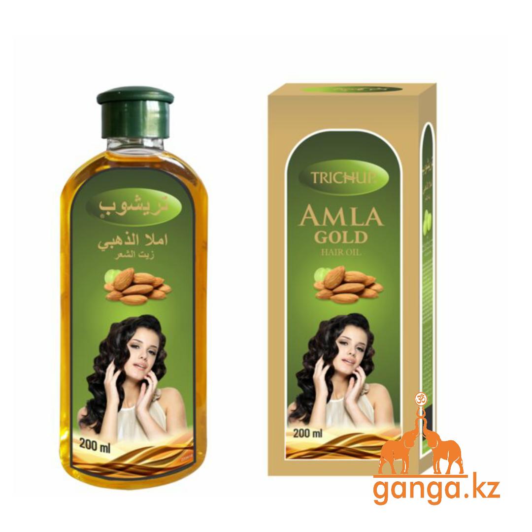 Масло для волос Амла Голд Тричап, Amla Gold Hair oil TRICHUP 200 мл