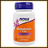 Now Foods, Мелатонин 3 мг (60 капс)