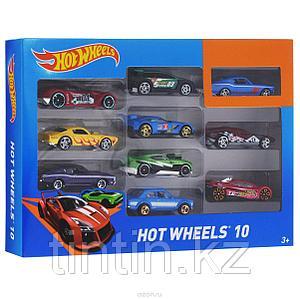 Набор моделек «Hot Wheels», 10 шт, металлические, в коробке