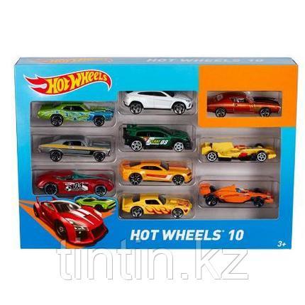Набор моделек «Hot Wheels», 10 шт, металлические, в коробке, фото 2