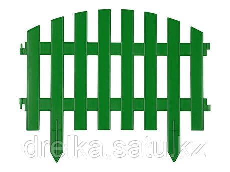 "Забор декоративный GRINDA ""АР ДЕКО"", 28x300см, зеленый, фото 2"