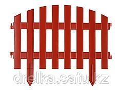 "Забор декоративный GRINDA ""АР ДЕКО"", 28x300см, терракотовый"
