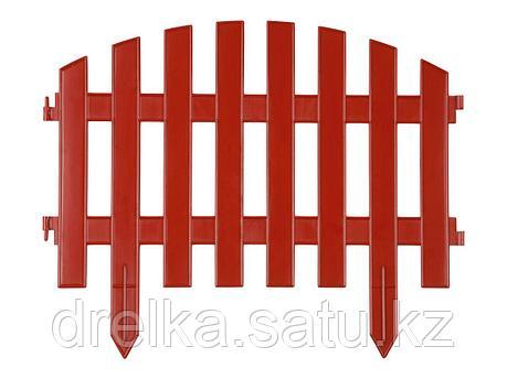 "Забор декоративный GRINDA ""АР ДЕКО"", 28x300см, терракотовый, фото 2"