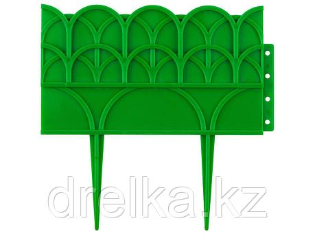 Бордюр декоративный GRINDA, 14х310см, зеленый, фото 2