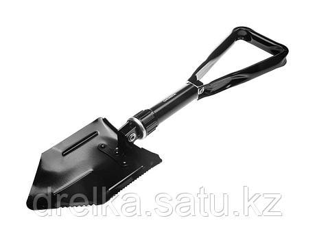 Лопата GRINDA складная, саперная, металлическая ручка, 240 / 578 мм, 39470_z01, фото 2