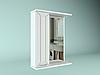 Шкаф навесной с зеркалом Рубин 600 мм 1 дверь