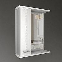 Шкаф навесной с зеркалом Троя 650 мм 1 дверь, фото 1