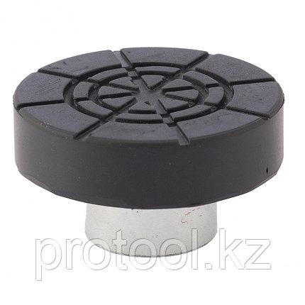Адаптер для бутылочных домкратов с резиновой накладкой (диаметр штока 28мм)//Matrix, фото 2