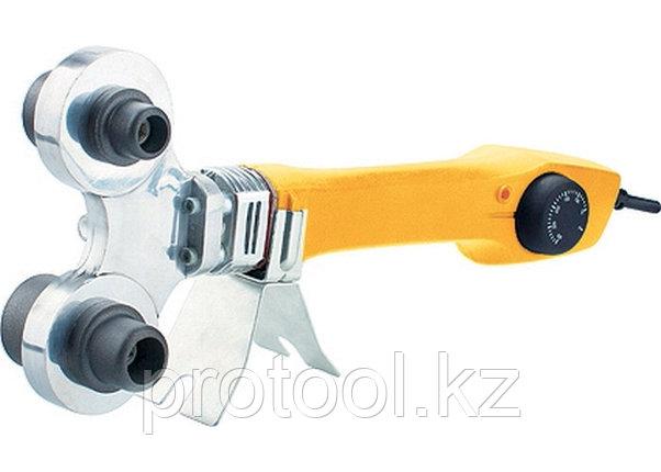 Аппарат для сварки пластиковых труб DWP-750, 750Вт, 260-300 град.,компл насадок, 20 - 40 мм// Denzel, фото 2