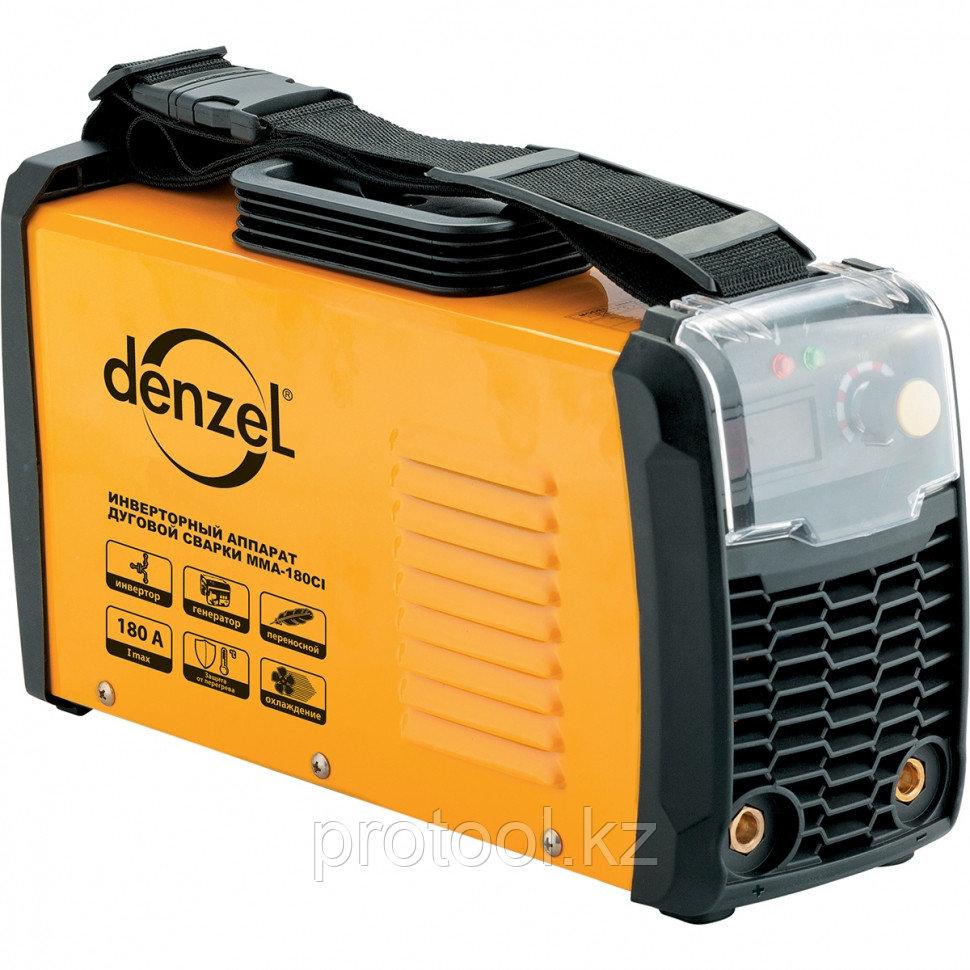 Аппарат инверторный для дуговой сварки ММА-160CI, 160 А, ПВР 80%, диам. 1,6-4 мм// Denzel