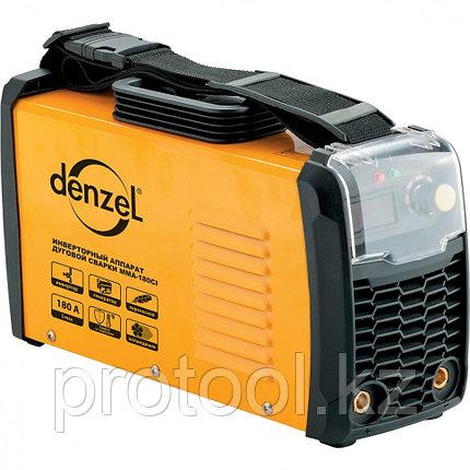 Аппарат инверторный для дуговой сварки ММА-180CI, 180 А, ПВР 80%, диам. 1,6-5 мм// Denzel, фото 2