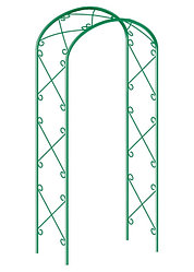 Арка садовая декоративная для вьющихся растений, 227 х 128 см// PALISAD