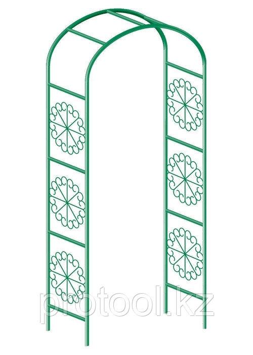 Арка садовая декоративная для вьющихся растений, 228 х 130 см// PALISAD