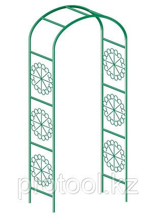 Арка садовая декоративная для вьющихся растений, 228 х 130 см// PALISAD, фото 2