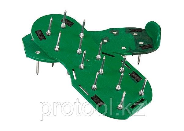 Аэратор ножной для газона, сандалии// PALISAD, фото 2
