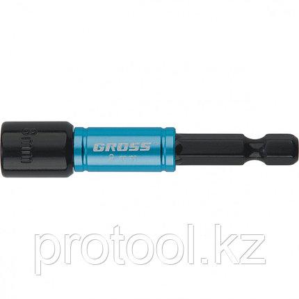 Бита с торцевой головкой, магнит. Nut-Driver, 8 мм, S2//Gross, фото 2
