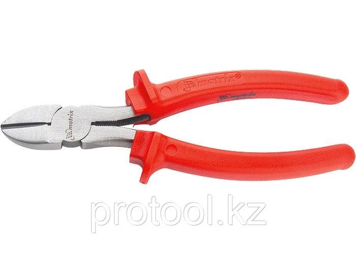 Бокорезы Econom, 180 мм, шлифованные, пластмассовые рукоятки// MATRIX