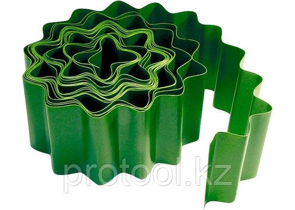 Бордюр садовый, 10 х 900 см, зелёный// PALISAD, фото 2