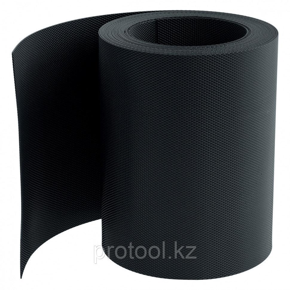 Бордюрная лента, 20 х 900 см, черная//PALISAD