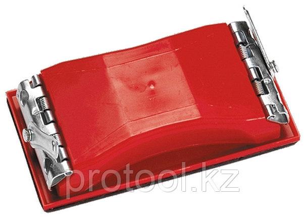 Брусок для шлифования, 160 х 85 мм, пластиковый с зажимами// MATRIX, фото 2