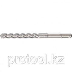 Бур по бетону PRO, 10 х 450 мм, SDS PLUS // GROSS