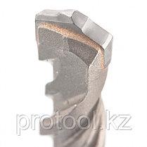 Бур по бетону PRO, 14 х 300 мм, SDS PLUS // GROSS, фото 2