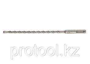 Бур по бетону PRO, 6 х 310 мм, SDS PLUS // GROSS, фото 2