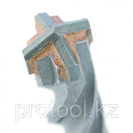 Бур по бетону, 10 x 110 мм, SDS PLUS c крестовой пластиной// MATRIX, фото 2