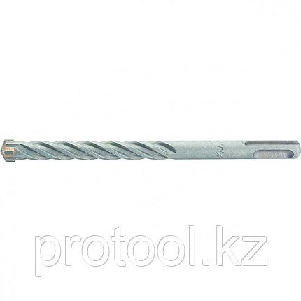 Бур по бетону, 10 x 210 мм, SDS PLUS c крестовой пластиной// MATRIX, фото 2