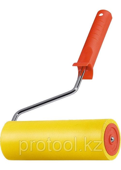 Валик прижимной резиновый с ручкой, 175 мм, D ручки - 6 мм// MTX