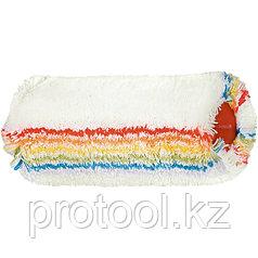 """Валик сменный """"ТЕТРАКОЛОР"""" фасад.,250 мм, ворс 18 мм, D - 48 мм,  D ручки - 8 мм, полиакрил// MTX"""