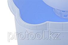 Ведро пластмассовое круглое с отжимом 9л, сиреневое //ТМ Elfe /Россия, фото 2