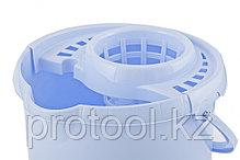 Ведро пластмассовое круглое с отжимом 9л, сиреневое //ТМ Elfe /Россия, фото 3