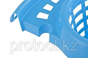 Ведро пластмассовое круглое с отжимом 12л, голубое //ТМ Elfe /Россия, фото 3