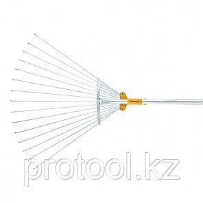 Веерные грабли телескопические, раздвижные // PALISAD LUXE, фото 2