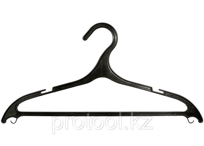 Вешалка пластик. для легкой одежды размер 48-50, 430 мм, 5 шт. в комплекте//ТМ Elfe /Россия