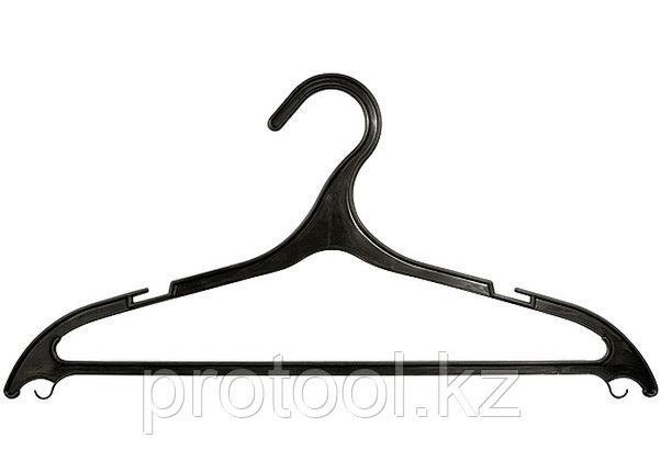 Вешалка пластик. для легкой одежды размер 48-50, 430 мм, 5 шт. в комплекте//ТМ Elfe /Россия, фото 2