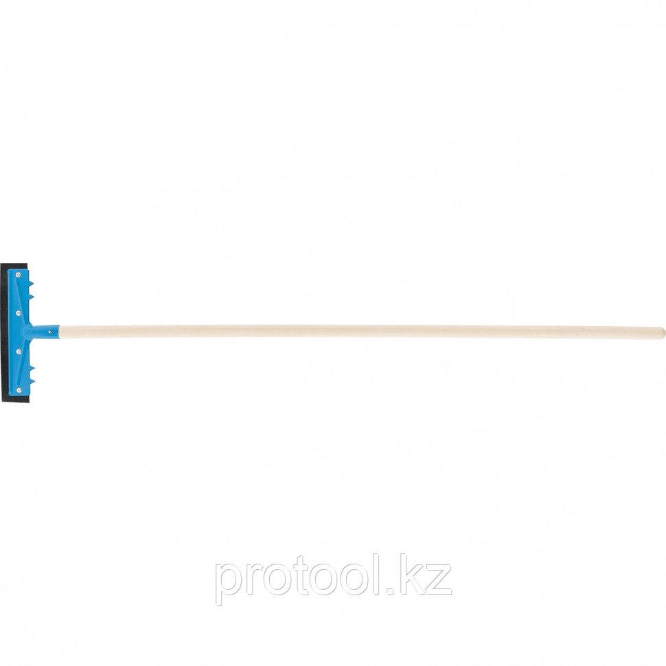 Водосгон 260 мм для пола, деревянный черенок//СИБРТЕХ Россия
