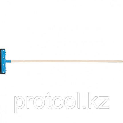 Водосгон 260 мм для пола, деревянный черенок//СИБРТЕХ Россия, фото 2
